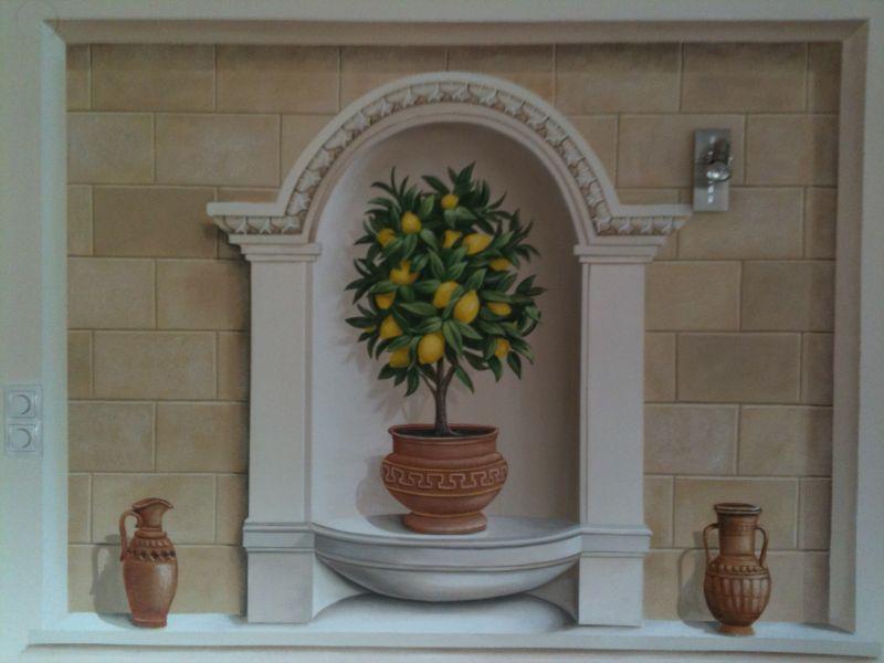 wandmalerei kunstmaler herbert blaas. Black Bedroom Furniture Sets. Home Design Ideas